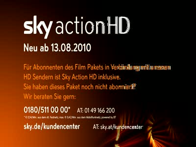 Sky Cinema Action HD Germany